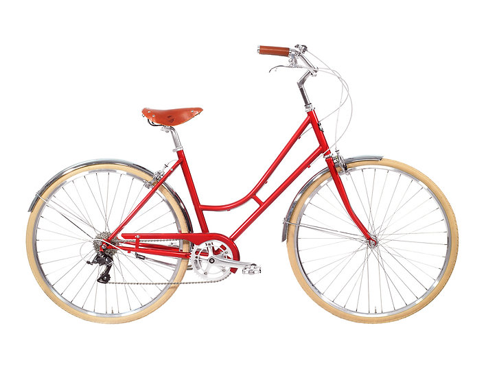 8Speed Lady Comfort – Red