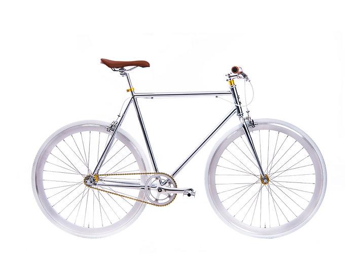 Fixie Bike – chrome
