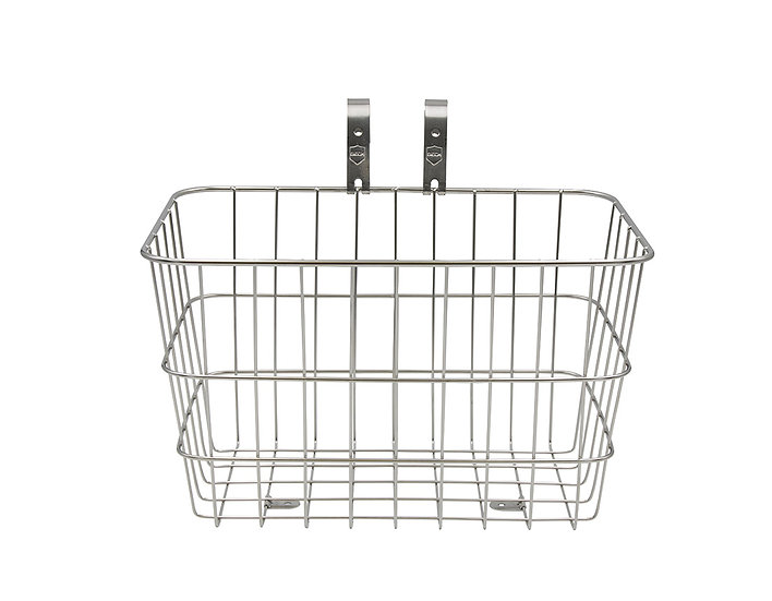 Siech Cycles Basket Large - Silver