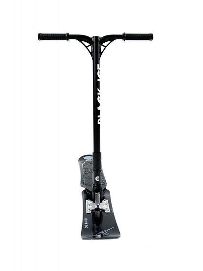 micro black ice snowpark scooter