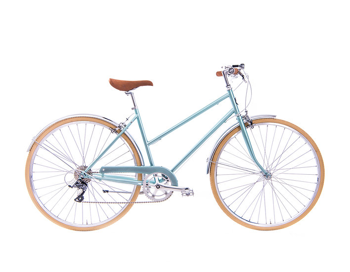 8Speed Lady City – light green