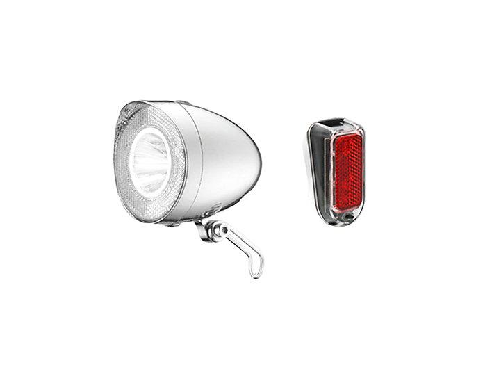 Siech Cycles Led Lightset silber