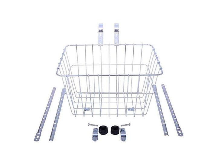 Wald Basket Large - Silver