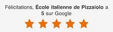 Squala Italiana Pizzaioli Felicitations