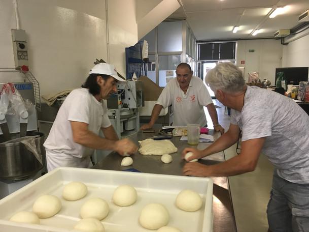 Graziano & Gino à la Scuola Italiana Piz