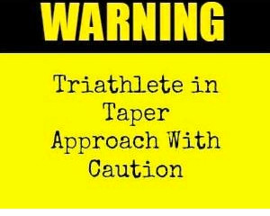 What is a race taper?