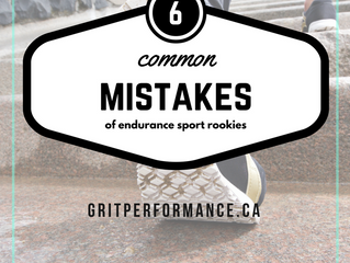 6 Mistakes of Endurance Sport ROOKIES