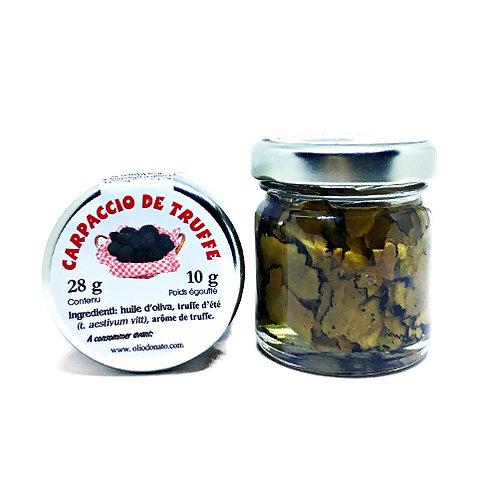 Carpaccio de Truffe Noire récoltée dans le Piémont 28g