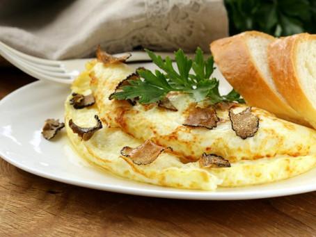Omelette à la truffe