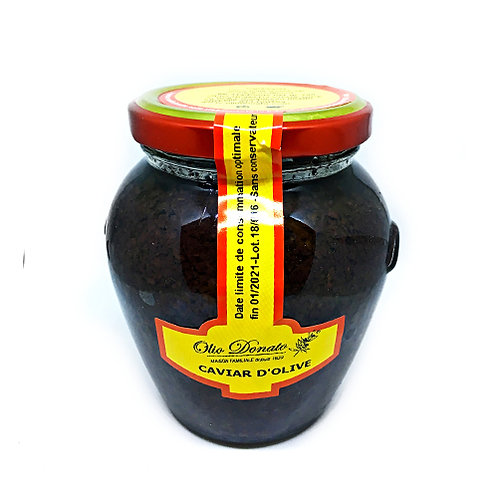 Caviar d'Olives Noires 290gr