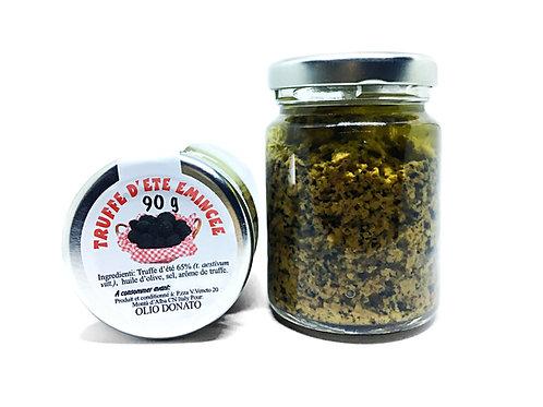 Truffe Noire récoltée dans le Piémont émincée 90g