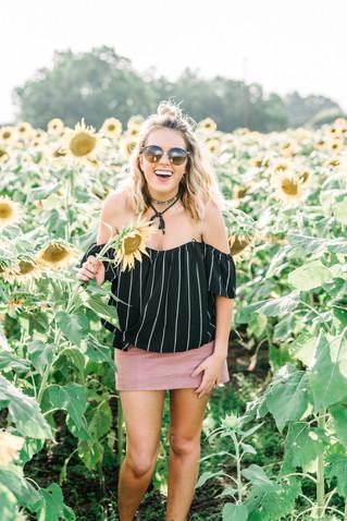 Sydney in Sunflowers