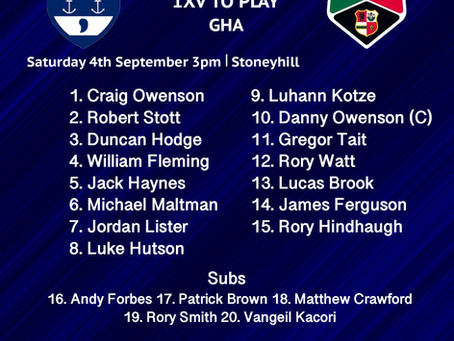 Squad to play GHA on Saturday