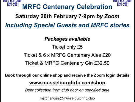 Celebrate 100 Years on the 20th February!