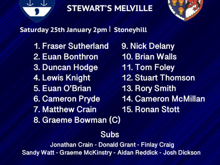 2XV Team to play at Stoneyhill!
