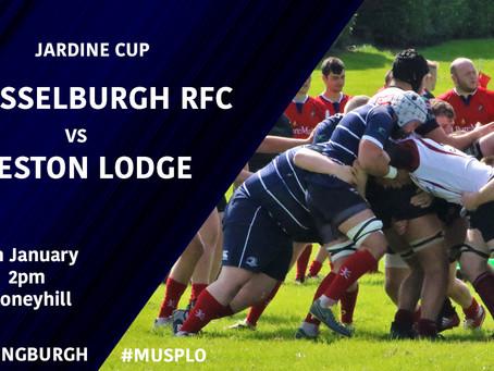 JARDINE CUP: Musselburgh vs Preston Lodge Announcement