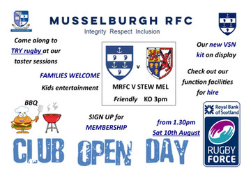 Musselburgh RFC and Rugby Force