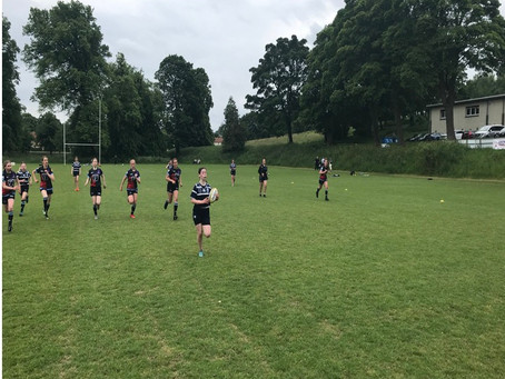 Musselburgh Girls Play First Ever Game