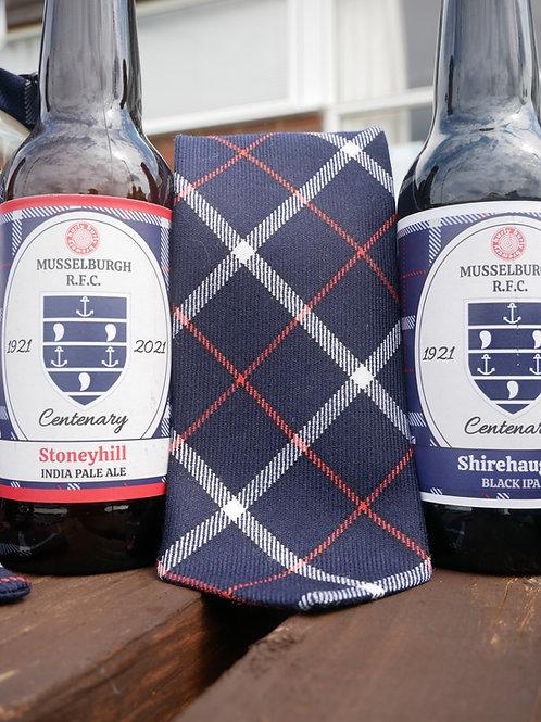 MRFC Centenary Tartan Tie