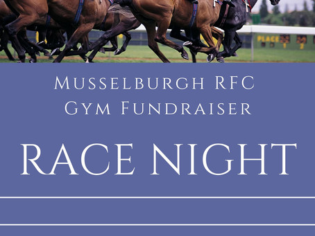 MRFC Race Night on the 30th November!