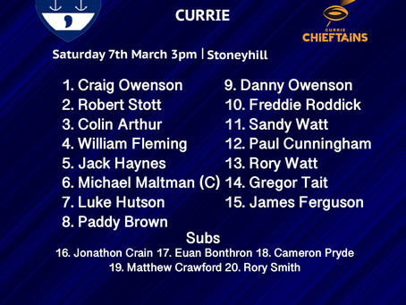 LINE UPS FOR SATURDAY