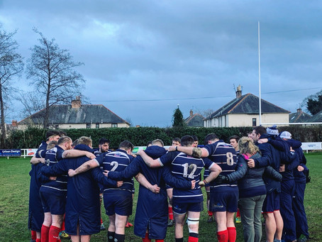 CLUB RUGBY CANCELLED