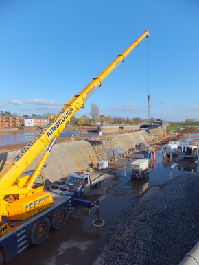 Tour of Exeter Flood Defence Scheme