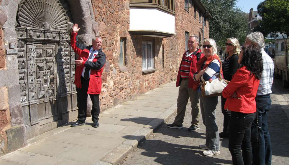 Exeter Red Coat Tour