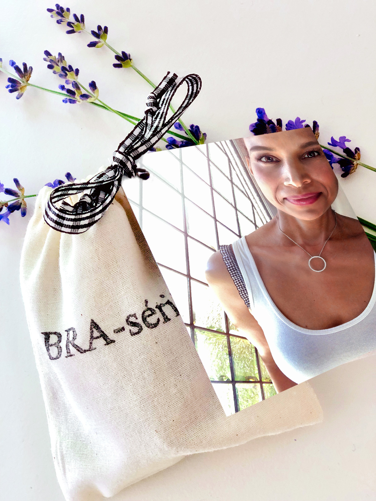 BRAserie Ivory Pouches