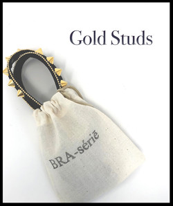 BRAserie Gold Studs