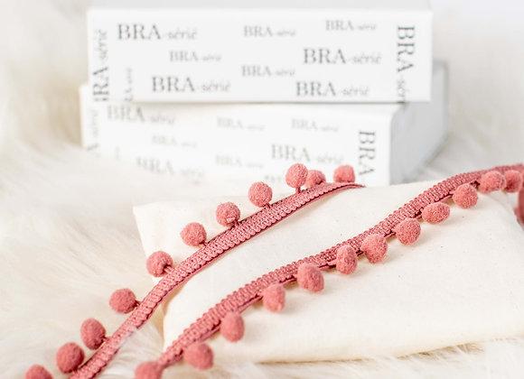 Rosé Pink Paris PomPoms (patent pending) BRA-serie