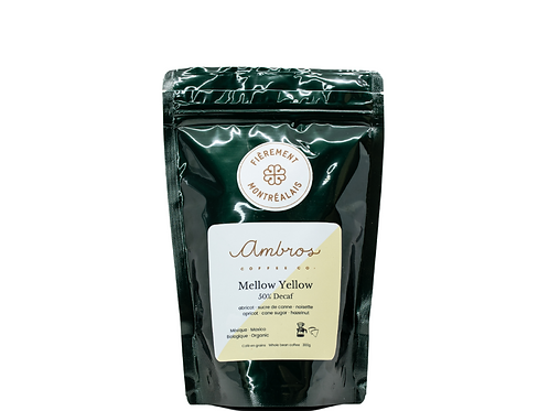 AMBROS COFFEE CO - Mellow Yellow (50% decaf)