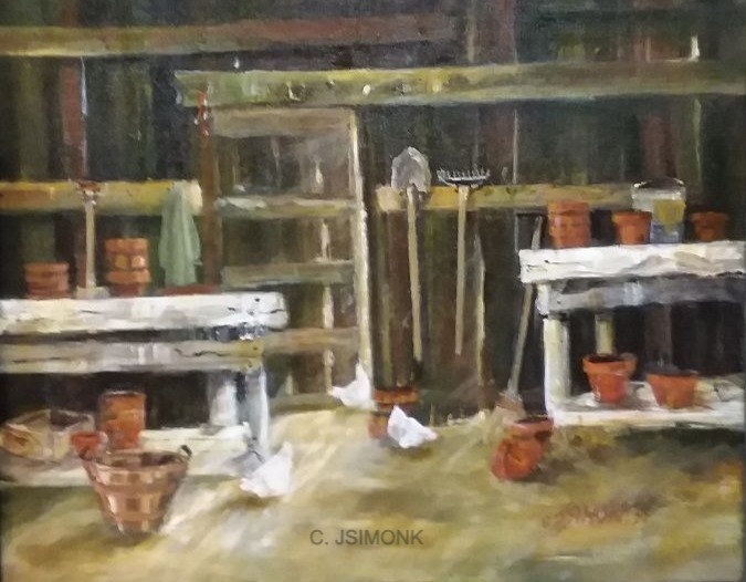 The Potting Shed Bench, 5/7