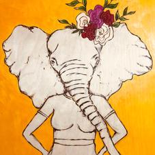 Elephant-Hands on Hips