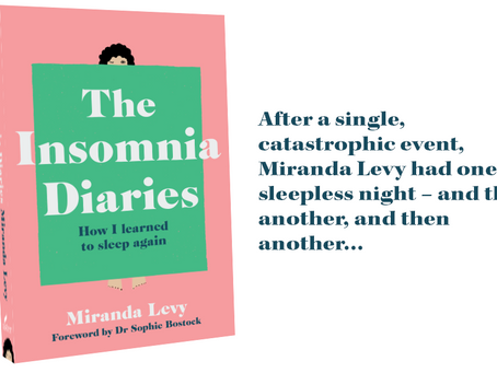 Book review: The Insomnia Diaries – How I learned to sleep again by Miranda Levy