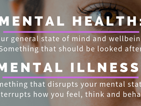 Mental 'health' isn't the problem! Mental illness IS! A dose of reality for anyone that's wondering!