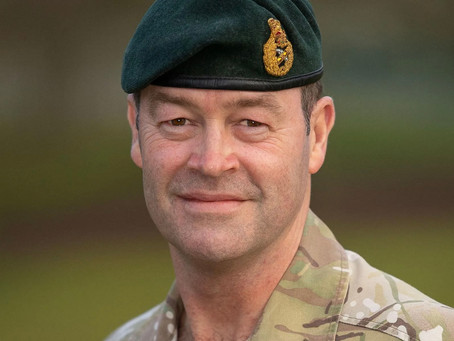 General Sir Patrick Saunders opens up and urges others to seek help with mental health