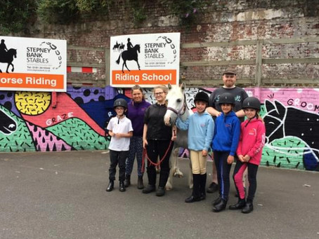 Warning signs and triggers for mental illness: my latest charity talk with Stepney Bank Stables