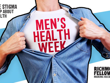 Men's Health Week 2021: the 'Can Do' Challenge. Day 1 -Monday: 'Connect'