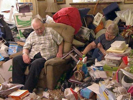 Hoarding: why I've spent Easter dealing with the after-effects of this disorder!