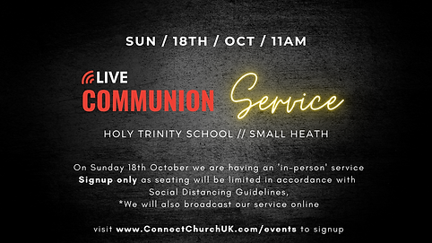 Communion Service at Holy Trinity School