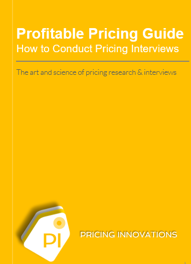 Pricing Research and Analysis by Pricing Innovations