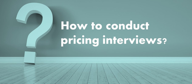 How to do pricing research