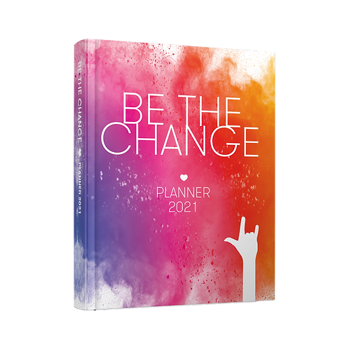 Be The Change Planner