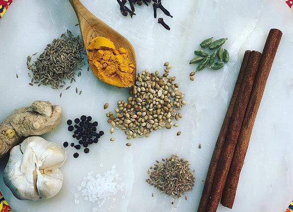 Mung Bean & Spinach Curry