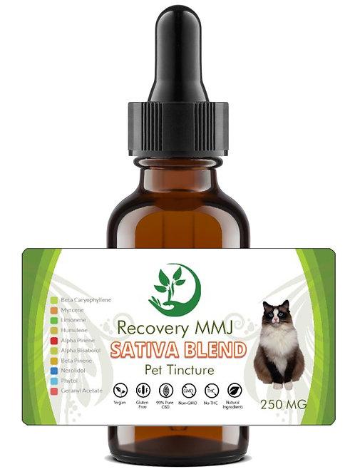 Sativa Blend Tincture (Cat)