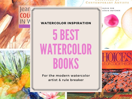 Best Watercolor Inspiration Books