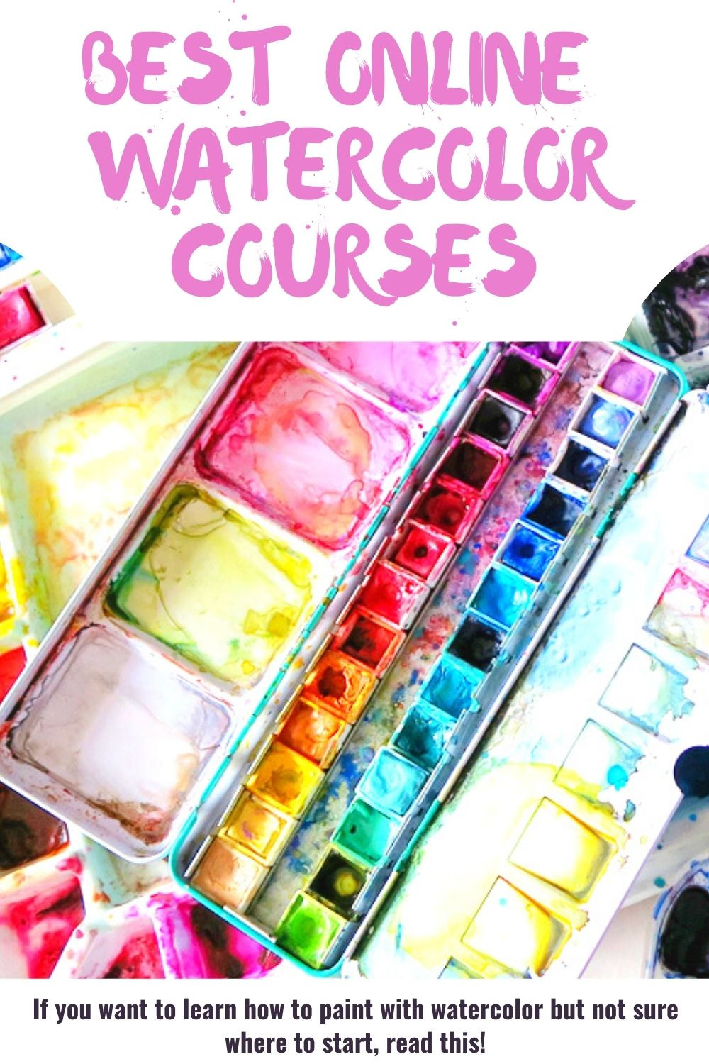 online watercolor courses how to learn to paint with watercolors