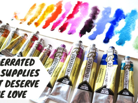 Underrated Art Supplies That Deserve More Love