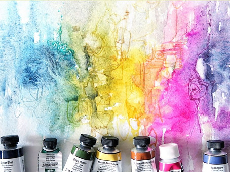 Choosing Colors For A Watercolor Painting